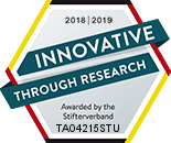 Innovative through research 2018|2019