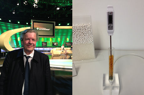 On ARD TV: Prime Time for the TAO Energy Storage for Heating
