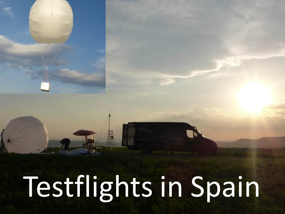 Exciting flight testing in Spain
